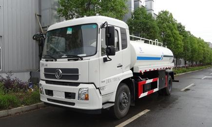 东风天锦12吨洒水车图片