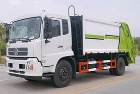 东风8吨压缩垃圾车