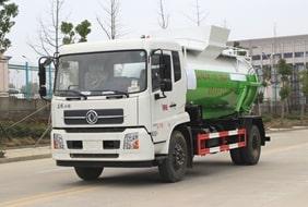 东风天锦餐厨式垃圾车