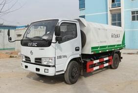 东风5方密封式垃圾车