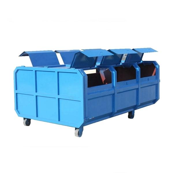 6方勾臂建筑垃圾箱