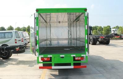 跃进小星易燃液体防爆运输车厢体图片