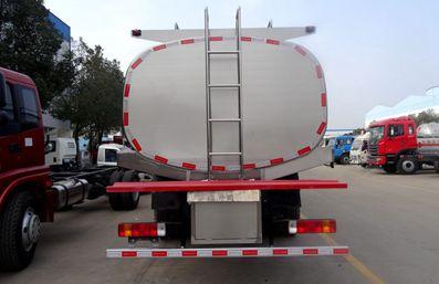 解放J6鲜奶运输车车尾图片