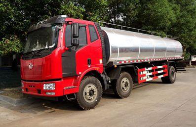 国五解放鲜奶运输车上市了