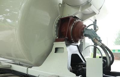 陕汽14立方搅拌车液压件图片