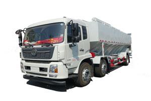 天锦小三轴15吨饲料运输车