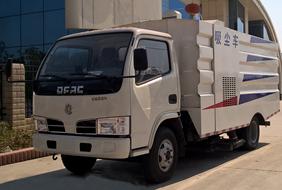 2019年东风3吨小型吸尘车价格