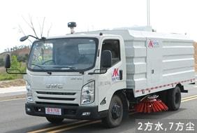 江铃5吨扫路车