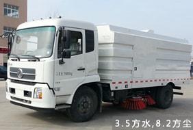 东风天锦8吨扫路车