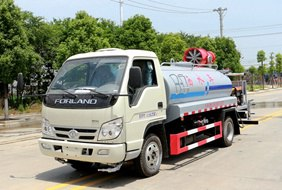 福田4吨喷雾洒水车