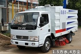 东风3吨小型扫路车
