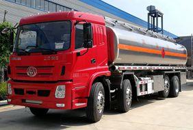 三环25吨铝合金油罐车