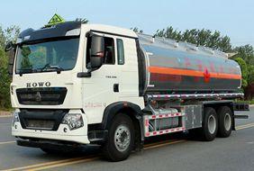 重汽豪沃17吨油罐车