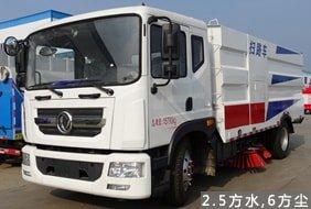 东风8吨大型扫路车