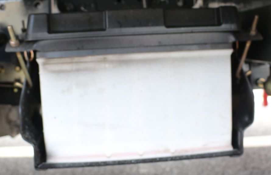 江铃扫路车蓄电池