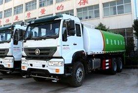 重汽18吨绿化洒水车