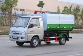 福田3方挂桶垃圾车