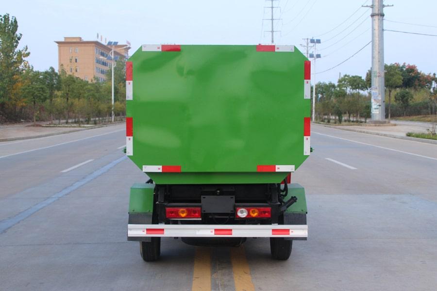 福田3方挂桶式垃圾车整车外观5