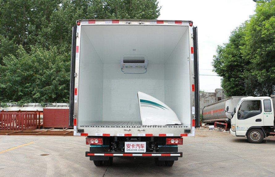 福田欧马可3s冷藏车厢体图片