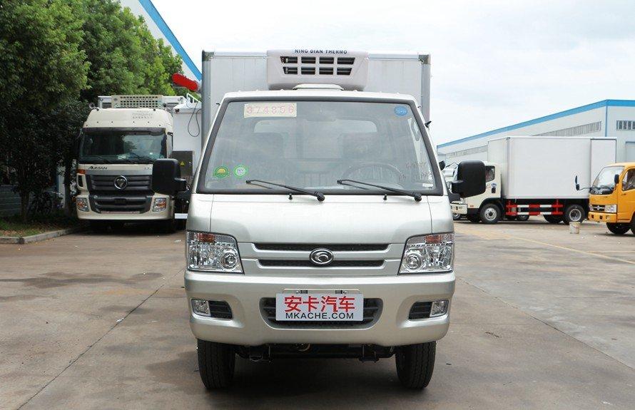 福田驭菱2.9米小型冷藏车正前图片