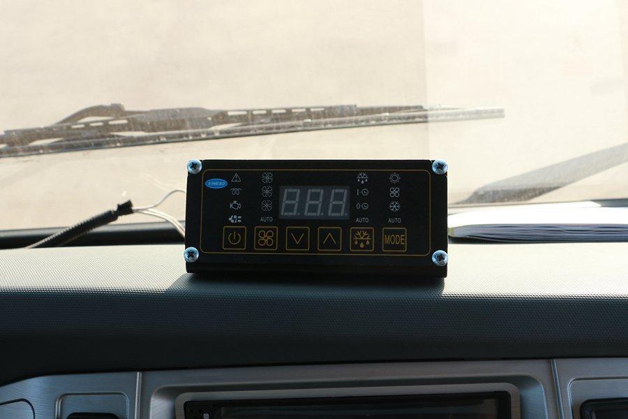大运4.2米纯电动冷藏车温度控制器图片