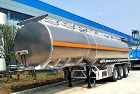 42方铝合金半挂油罐车