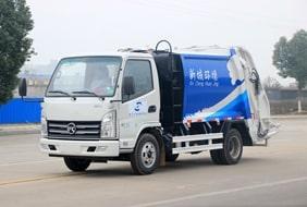 2吨蓝牌压缩垃圾车