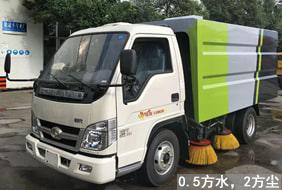 福田2吨小型扫路车