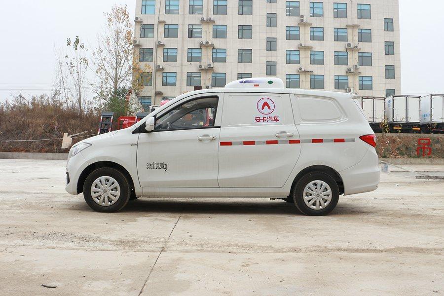 福田伽途ix5面包冷藏车正侧图片