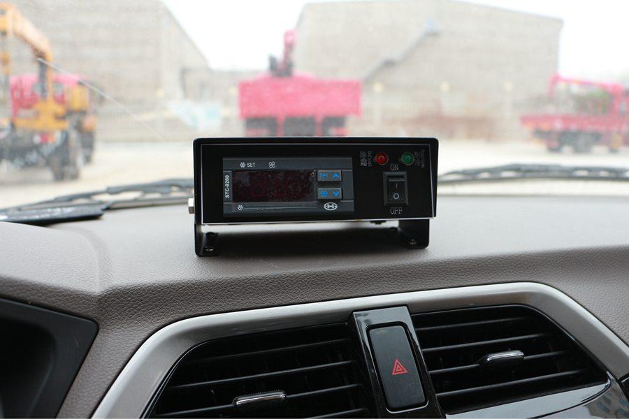 福田伽途ix5面包冷藏车温度控制器图片
