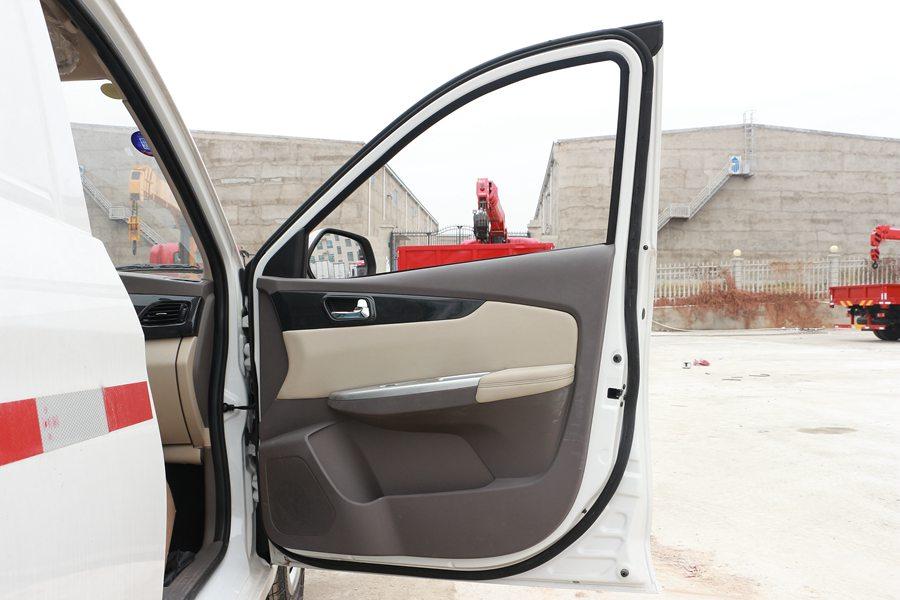 福田伽途ix5面包冷藏车电动门窗图片