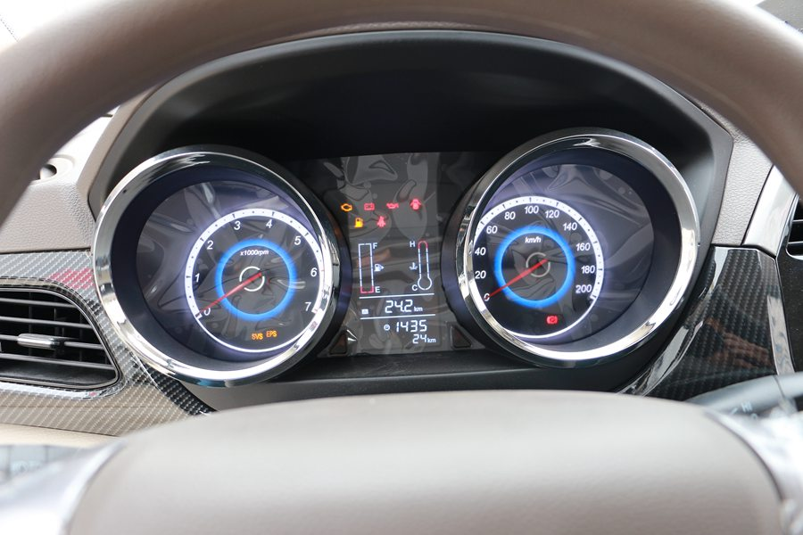 福田伽途ix5面包冷藏车仪表盘图片